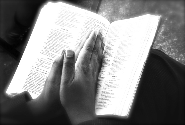 Praying Hands Christian Stock Image