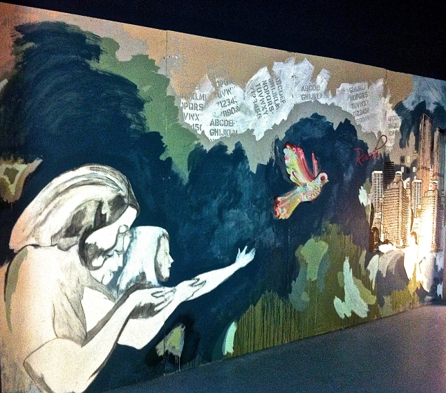 Mural from Mosaic Church in Miami, Florida.