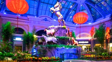 Chinese New Year Bellagio 2014