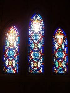 Stained Glass from St. James Lutheran Church in Mounds, MN